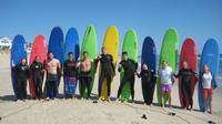 Learn out to Surf in a fun Group experience!