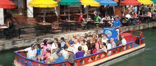 Rio San Antonio River Walk Cruises, water raft