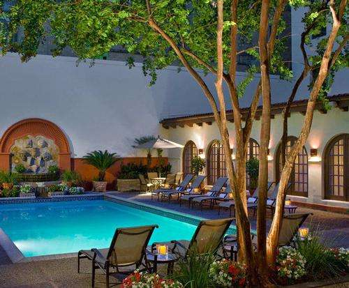 Outdoor Pool at Omni La Mansion del Rio