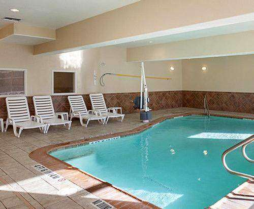 Comfort Suites Near Six Flags Indoor Swimming Pool