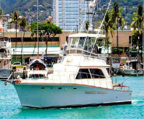 Half day sport fishing charter in honolulu hawaii for Sport fishing hawaii