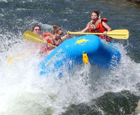 Rafting South Fork - Gorge Run...