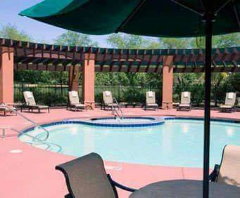 Outdoor Pool at Hilton Garden Inn University & I 10
