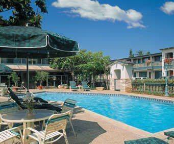 Outdoor Pool at Best Western Plus Encina Lodge & Suites