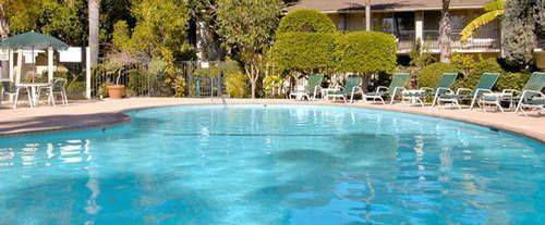 Outdoor Swimming Pool of Ramada Limited Santa Barbara