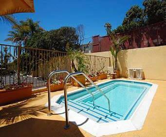 Outdoor Pool at Quality Inn & Suites Hermosa Beach