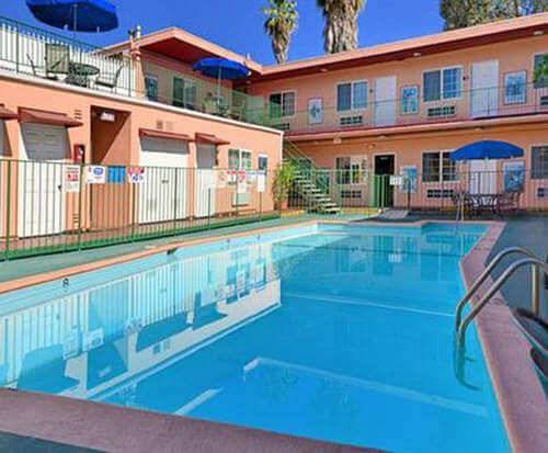 Outdoor Pool at Econo Lodge Hollywood