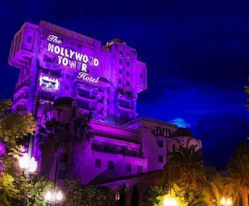 Disneyland and Disney's California Adventure, Hollywood Tower Hotel