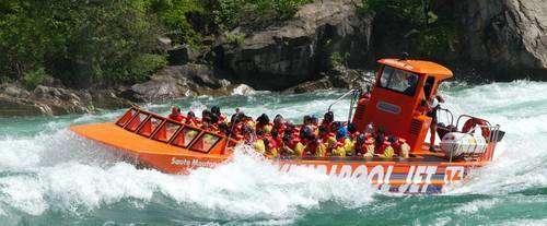 Wet Jet Whirlpool Jet Boat Tours U S Side