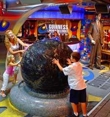Guinness World Records Museum Rolling Ball on Water