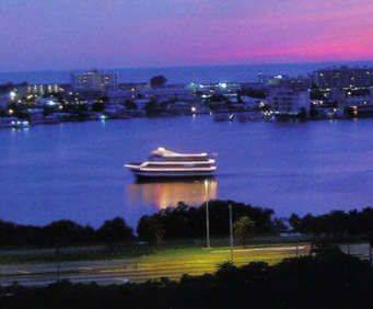 Starlite Cruise Ship at sunset
