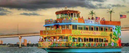 Buy Calypso Queen Sightseeing Lunch Amp Dinner Cruises