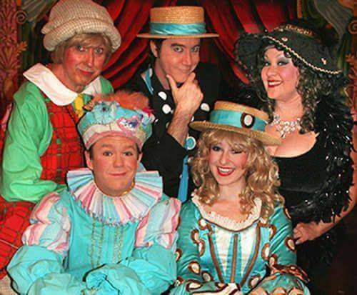 Cast of Sweet Fanny Adams Theatre