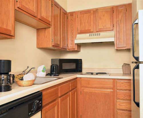 Photo of All Season Suites Pigeon Forge, TN Kitchenette