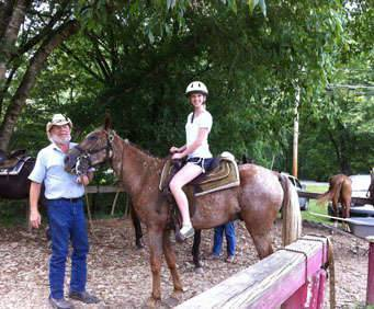 1 Hour Smoky Mountains Horseback Ride, instruction