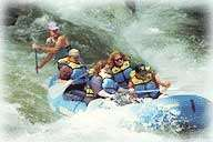 Nantahala River Rafting Tour, white water rafting