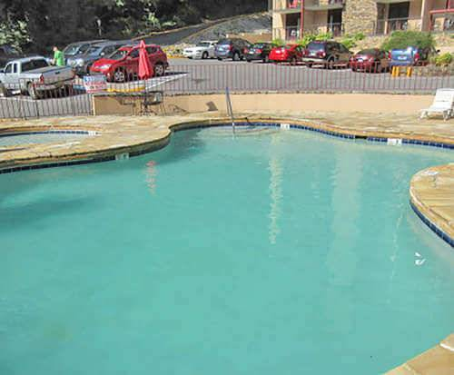 Outdoor Pool at Quality Inn & Suites