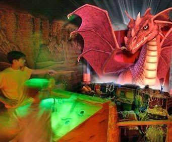MagiQuest, fight dragons