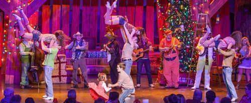 Hatfield & McCoy Dinner Feud Show, Christmas show