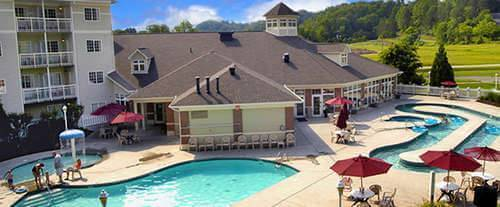 Exterior of MainStay Suites Pigeon Forge