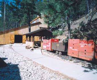 Big Thunder Gold Mine - Keystone, SD, historical pic