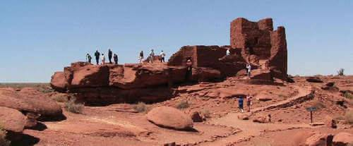 Grand Canyon Sightseeing Tour, ruins