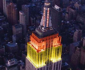 New York City Tour in Foreign Languages, aerial sights