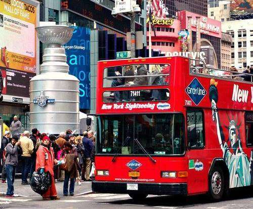 All Loops Double Decker Bus Tour & Museum of Modern Art Combo, double decker bus