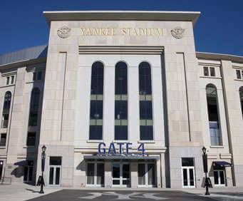Yankee Stadium Guided Tour, stadium gate