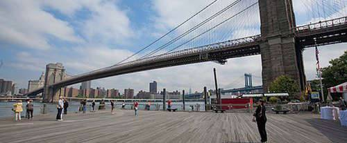 The Brooklyn Tour, Brooklyn bridge
