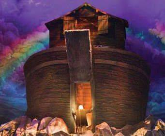 Noah The Musical at Sight & Sound Millennium Theatre Lancaster, PA, arc