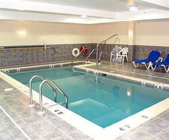 Comfort Suites Amish Country Indoor Pool