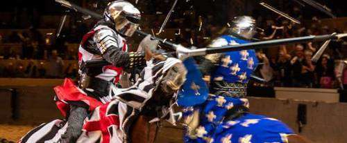 Jousting event