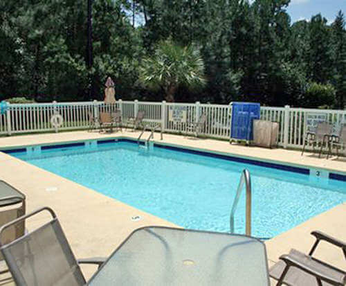 Outdoor Pool at Comfort Suites - Conway