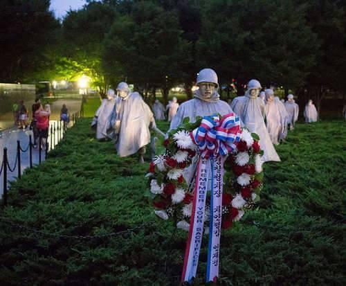 Moonlight Trolley Tour - Iwo Jima Memorial