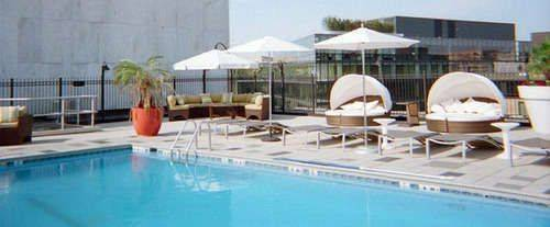 Outdoor Swimming Pool of Liaison Hotel