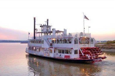 Memphis Riverboats Sightseeing & Dinner Cruises - Paddlewheel Boat